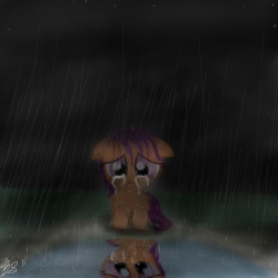 Scary Raining Days Fimfiction My little pony,мой маленький пони,фэндомы,mlp art,rainbow dash,рэйнбоу дэш,mane 6,scootaloo,скуталу,cmc,метконосцы, меткоискатели,minor,flywheel. scary raining days fimfiction