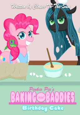 Pinkie Pies Baking With Baddies Birthday Cake Written By Closer To The Sun