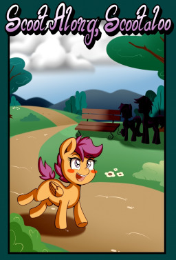 Scoot Along Scootaloo Scoot Along Scootaloo Fimfiction I like to update this game, so give me your opinion and i'll try to. fimfiction