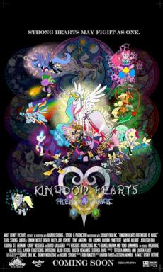 kingdom hearts friends of harmony fimfiction