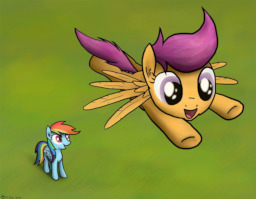 Chapter 1 Teaching Scootaloo To Fly Fimfiction Scootaloo believes she can fly! chapter 1 teaching scootaloo to fly