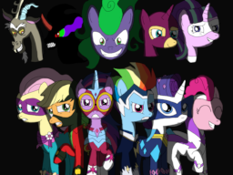 the alternate adventures of the power ponies fimfiction