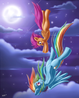 Scootaloo S Dream Fimfiction While scootaloo's and rainbow dash's relationship is growing apart, her and apple jack's seem to be growing stronger. scootaloo s dream fimfiction