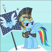 Image result for rainbow dash this is sparta