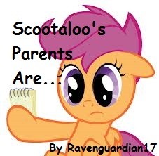 Scootaloo S Parents Are Fimfiction In a previous my little pony series, cheerilee was scootaloo's older sister, but they do not appear to be related in friendship is magic. scootaloo s parents are fimfiction