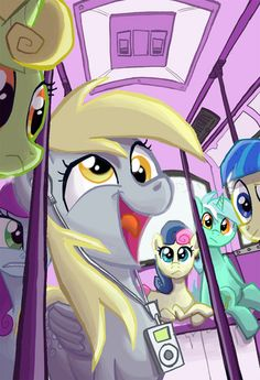 After A Dorm Room Mix Up, Derpy, Lyra, And Octavia Find Themselves Living  Together For One Month At Princess Lunau0027s Academy For The Fine Arts. Chance  Of ... Part 73