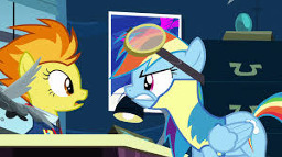 Never A Wonderbolt Fimfiction #mlp #art #pony #wonderbolt #scootaloo #rainbow_dash #3d #sfm by powdan. never a wonderbolt fimfiction